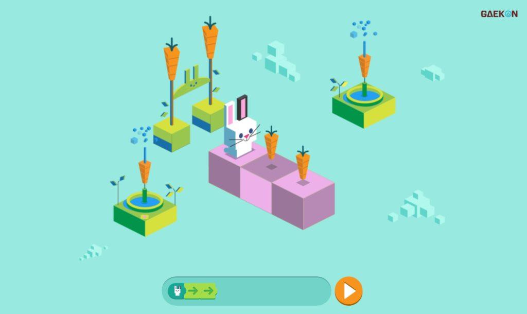 Buat Betah Di Rumah, Google Doodle Bikin Game Coding Kelinci Lucu