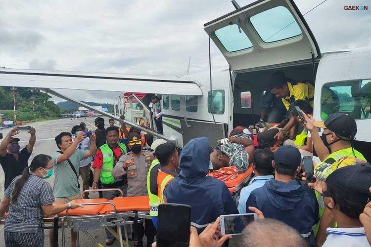 KKB Tembak 2 Tim Covid-19 di Papua
