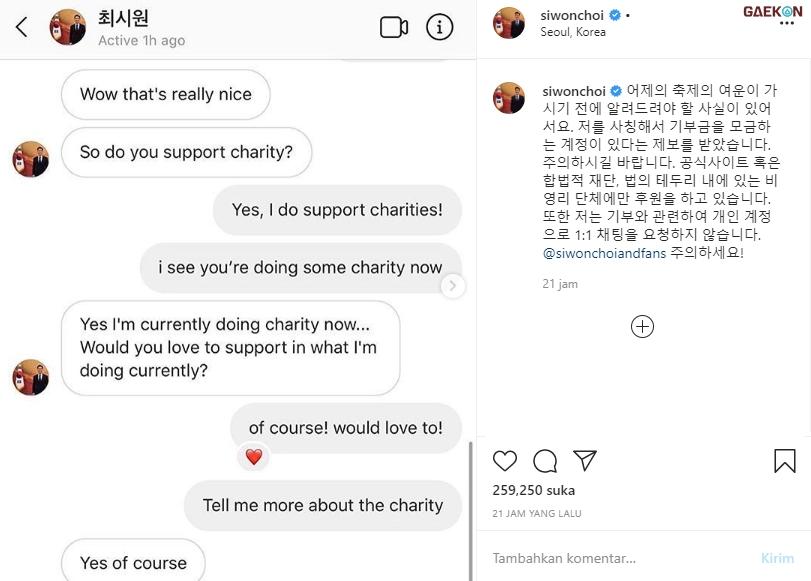 Banyak Penipuan Mengatasnamakan Dirinya, Siwon Peringatkan Fansnya Agar Hati-Hati