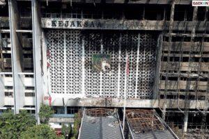 Teka-teki Cleaning Service Saksi Kebakaran Gedung Kejagung Punya Rekening Rp 100 Juta