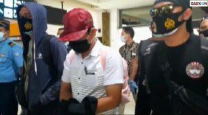 Inilah Tampang Tersangka Pelecehan di Bandara Soetta Ketika Ditangkap Polisi