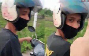 Diamankan Polisi, Pelaku Begal Paha Ngaku Cuman Iseng Padahal Istrinya Tengah Hamil