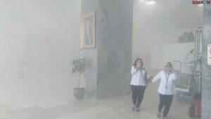 Alat Las Senggol Kabel, Lift Gedung DPR RI Terbakar