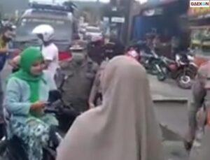 Ngaku Istri Jaksa dan Marah-Marah Saat Terjaring Razia Prokes Ibu Ini Bikin Geram Netizen