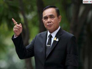 Didemo 10 Ribu Orang PM Thailand Tetap Tak Ingin Mundur Dari Jabatannya