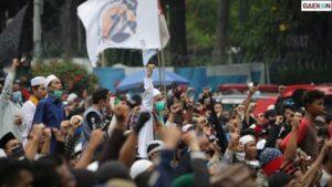 Demo Belum Mulai, Belasan Pemuda Diringkus Aparat