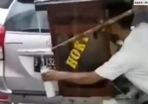 Viral Video Seorang Pedagang Gunakan Air Hujan untuk Kuah Dagangannya