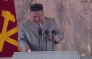 Tak Seperti Biasa, Kim Jong-un Menangis dan Minta Maaf Kepada Rakyatnya