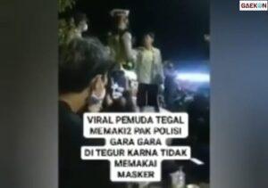 Pemuda Ngapak Ngamuk Ke Polisi, 'Nyong Takoni Yo Dijawab'