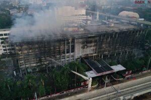 Kuli dan Mandor Jadi Tersangka Kebakaran Gedung Kejagung, Kambing Hitam?
