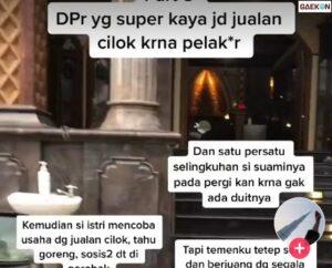 Viral Kisah Nyata Mantan Anggota DPR Kerap Selingkuh Hingga Perusahaan Bangkrut