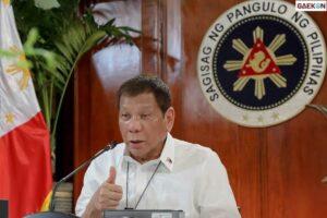 Presiden Filipina Rodrigo Duterte Siap Dipenjara Atas Perintah Bunuh Lawan Narkoba