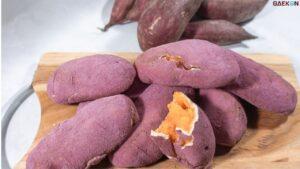 Lumer di Mulut, Roti Ubi Ungu Asal Korea Goguma Ppang Viral