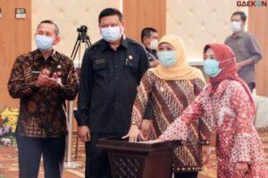 Gubernur Jatim Akhirnya Resmikan Gedung Pusat Pelatihan ASN Commander Center