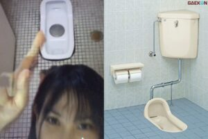 Culture Shock, Cewek WNI Ini Nggak Biasa Pakai Kloset Kering Di Jepang