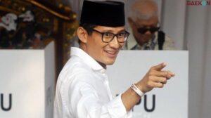 Namanya Mencuat Sandiaga Uno Berpeluang Gantikan Posisi Edhy Prabowo Jadi Menteri KKP