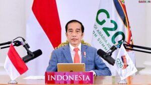 Di KTT G20 Jokowi Bicara Soal UU Ciptakan Kerja