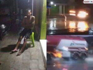 Video Pria Dilindas Truk Pertamina, Tak Tewas Hanya Luka Ringan