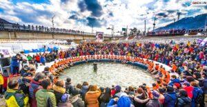 Keseruan Musim Dingin Di Korea, Mulai Dari Bersepeda Hingga Memancing Ikan!