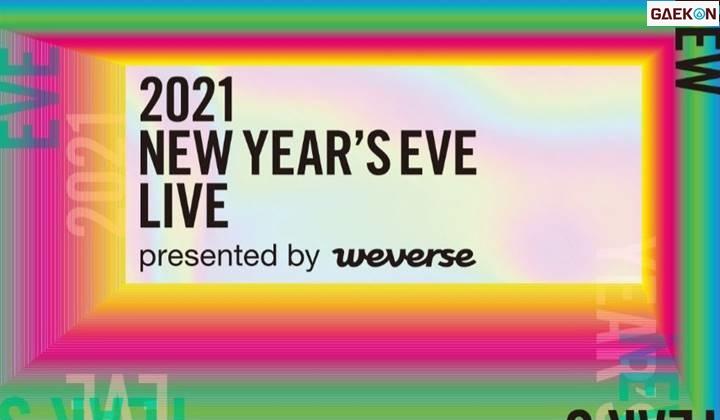 "Big Hit Labels Adakan Konser ""2021 NEW YEAR'S EVE LIVE"" - Gaekon"