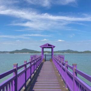 """Purple Islands"" Tempat Wisata Instagrammable Di Korea Selatan"