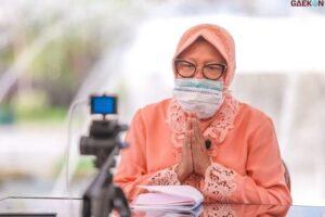 Dikaitkan Soal Menteri, Risma: Ikut Ibu Mega