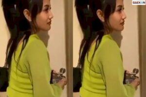 Wanita Ini Bikin Gempar, Dicubit Belahan Dadanya Saat Masuk Kamar Hotel