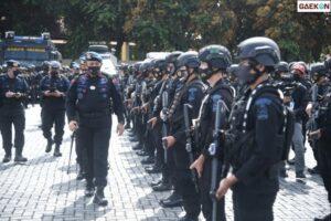 2.690 Personel Brimob Dikirim Ke DKI Kawal Aksi PA 212 Tuntutan Rizieq Bebas