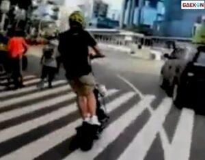 Aksi Jambret Gagal Rampas HP Terekam Video, Sempat Dikejar Korban
