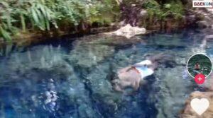 Surga Papua, Sungai Super Jernih Ini Bikin Warganet Tak Tahan Ingin Nyemplung
