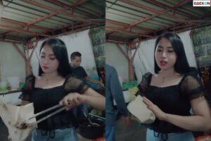 Gadis Penjual Pecel Lele Ini Cantiknya Bikin Salah Fokus dan Penasaran Netizen