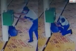 Terekam CCTV Maling Ini Tetap Santai Curi Kotak Amal di Masjid
