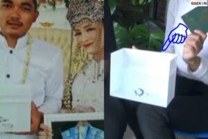 Pakai Cupang Buat Mahar Nikah, Pengantin Ini Viral