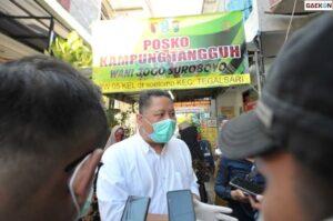 Kasus COVID-19 Melandai, Swab dan Tracing Tetap Digencarkan Pemkot Surabaya