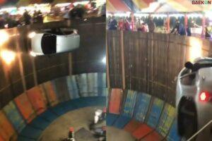 Tong Setan Zaman Now Sudah Tak Pakai Sepeda Motor Tapi Mobil, Netizen Auto Melongo