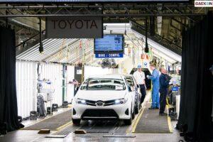 Akhirnya Toyota Hentikan Produksi di Inggris dan Prancis