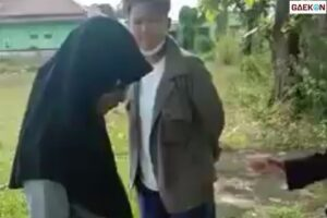 Video Perundungan Dikecam Warganet, Cowok Ini Tampar Muka Cewek