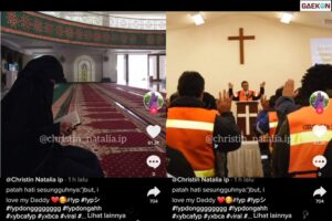 Perempuan Bercadar Ini Ngaku Anak Kandung Pendeta