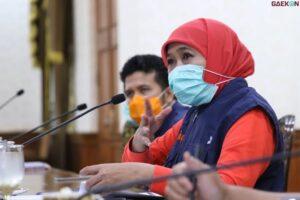 Gubernur Jatim Pastikan Tidak Ada PSBB