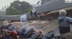 Hujan Deras Semalaman, Tebing Longsor Runtuhkan Bangunan