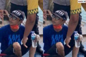 Pakai 2 Galon Kosong, Pemuda Ini Nekat Berenang Di laut Karena Tak Punya Ongkos Pulang