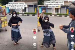Curhat Pasangan Cuek, Wanita Ini Malah Menari-nari Nggak Jelas