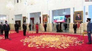 Akhirnya Presiden Jokowi Lantik Enam Menteri dan Lima Wakil Menterinya