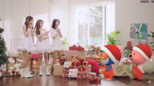 Oh My Girl Kerjasama Dengan Karakter Pororo Untuk MV Barunya