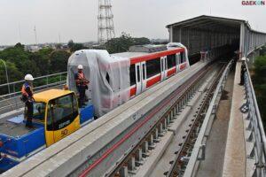 Kurangi Kemacetan, Proyek Light Rail Transit (LRT) Jabodetabek Akan Segera Beroperasi