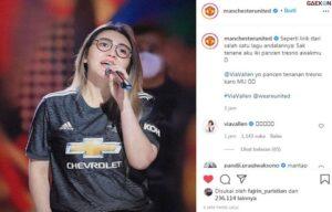 Unggah Foto Via Vallen Dan Gunakan Caption Bahasa Jawa, Akun Instagram Manchester United Sita Perhatian Publik