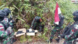 Berhasil Diamankan, Dua Kotak Kardus Berisi 40 Paket Narkoba Dalam Bentuk Kemasan Teh Ditemukan Di Perbatasan Indonesia-Malaysia