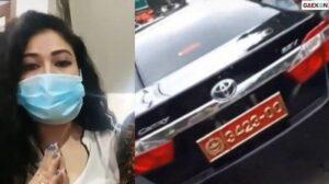 Wanita Viral Pamer Mobil Pelat Merah Bodong Diringkus TNI