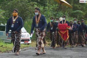 Abdi Dalem Keraton Yogyakarta Temukan Kerangka Manusia Di Semak-Semak Saat Labuhan Merapi