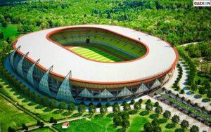 Siap Untuk PON XX, Jokowi Pamer Venue Stadion Papua
